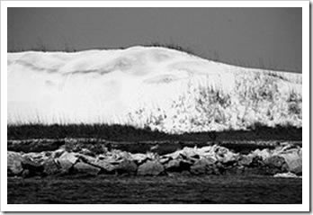 Snow Dune BW