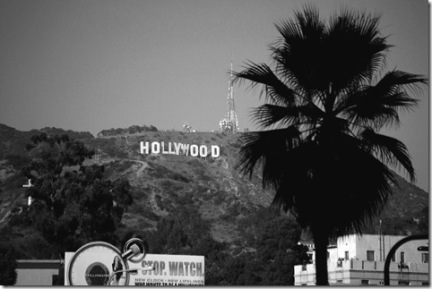 Hollywood Sign 15bw