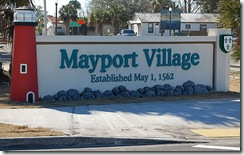 Mayport Sign