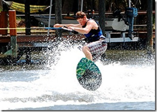 ICW Wakeboard Guy