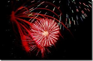 2009 Beach Fireworks 2