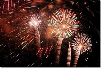 2009 Beach Fireworks 3