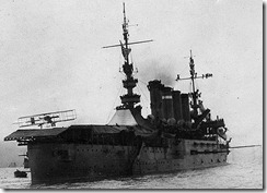 "First ""Aircraft Carrier"" Landing by a Curtiss Pusher aboard the U.S.S. Pennsylvania in 1911"